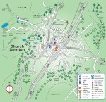 Church Stretton Town Map